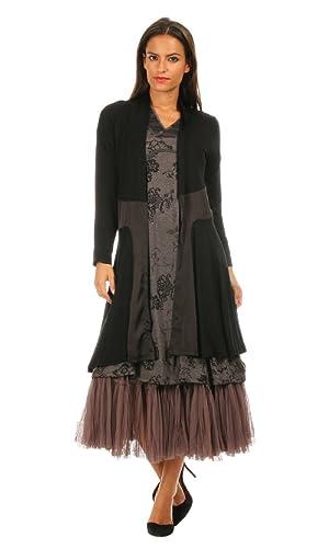 Bohemia Women's Cardigan MAELISSE L Black