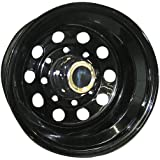 "Pro Comp Steel Wheels Series 87 Wheel with Gloss Black Finish (16x8""/6x5.5"")"