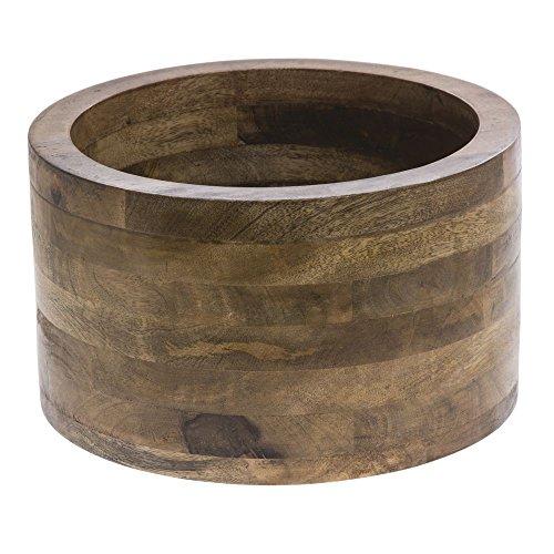 Display Riser Wooden Mango Wood - 12'' Dia x 7'' H by Hubert
