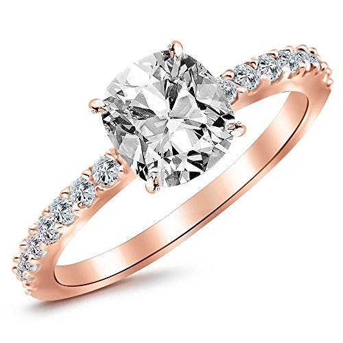 0.5 Ct Side Stone - 5