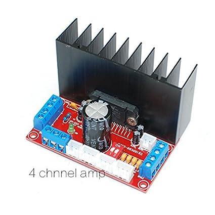 Generic Diy Kit Hifi Tda7388 4 Channels Home Amazon In Electronics