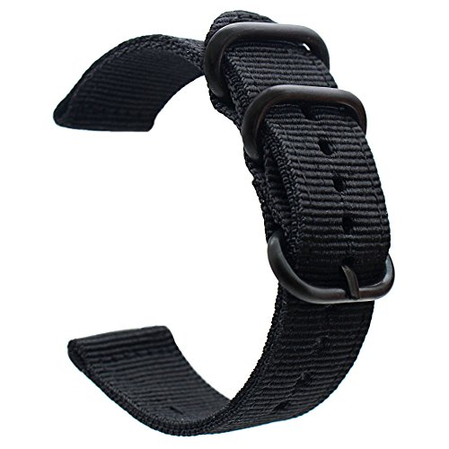 For Garmin Fenix 5 Watch Band, ViCRiOR 22mmPremium Woven Nylon Bands Adjustable Replacement Sport Strap with Metal Buckle for Garmin Fenix 5/Forerunner 935 GPS/Approach S60 Smart Watch Smart Watch by Keklle