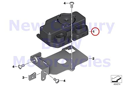 amazon com bmw genuine motorcycle control unit dwa basic low rh amazon com