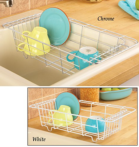 Over The Sink Dish Rack Chrome