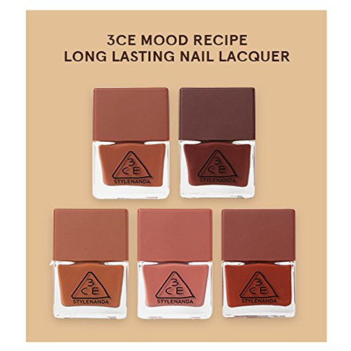 3CE-Mood-Recipe-Long-Lasting-Nail-Lacquer-5-colors-SET-stylenanda