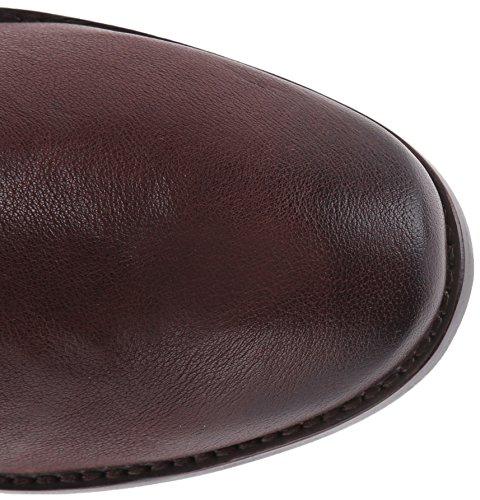 Frye Womens Anna Gore Lange Buffelleer Rijlaars Chocolade-74653