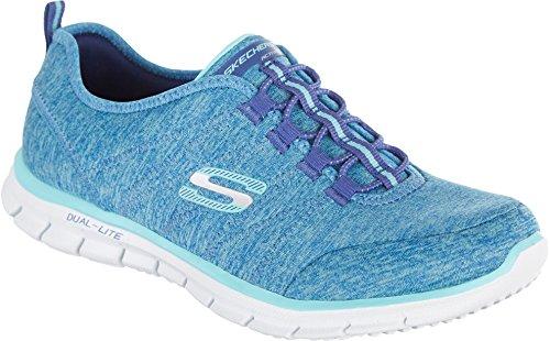 Skechers Sport Mujeres Glider Electricity Sneaker Blue / Aqua