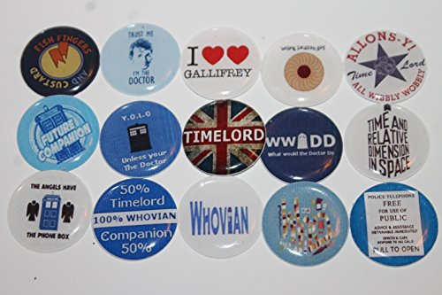 Refrigerator Magnets - Doctor Who Theme - Whovian, Timelords & Gillifrey
