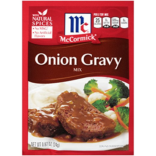 McCormick Onion Gravy Mix, 0.87 oz