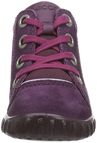 ECCO Ecco Mimic - Botas Bebé-Niñas Burgundy/Light Purple 58766