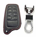 RPKEY Leather Keyless Entry Remote Control Key