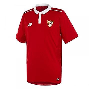 New Balance Sevilla FC Segunda Equipación 2016-2017, Camiseta, Red, Talla XXL: Amazon.es: Deportes y aire libre