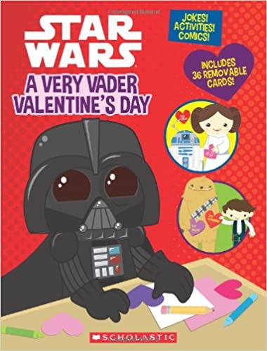 Star Wars Valentine Book