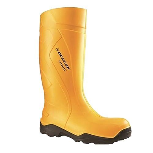 Dunlop Purofort S5 gelb C763241 Gummistiefel, absolut sicher, gelb S5 ... 8e6e5b