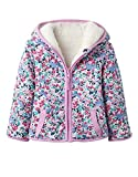 Joules Baby Reversible Zip Fleece - Kitty Ditsy - 18-24 months / 92 cms