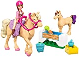 Mega Bloks Barbie's Day at the Stables Building Kit