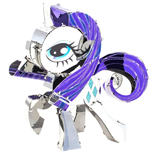 Fascinations Metal Earth 3D Metal Model Kits My Little Pony Complete Set of 6 Applejack - Fluttershy - Pinkie Pie - Rainbow Dash - Rarity - Twilight Sparkle by Fascinations (Image #5)