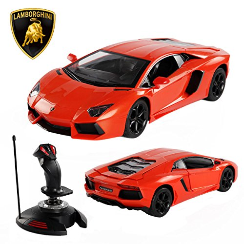 MTN Gearsmith New 1:14 Lamborghini RC Car Gravity Sensor Dangling Remote Control Open Doors