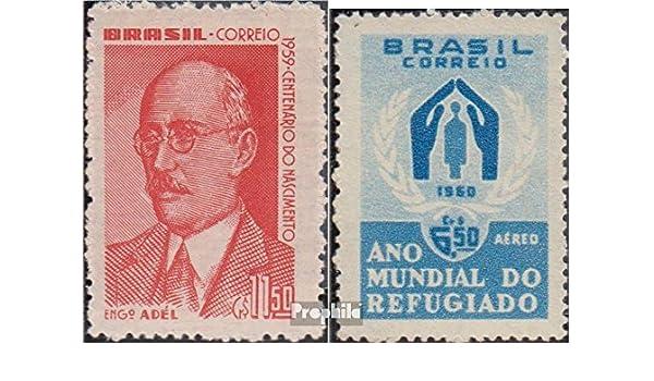 Prophila Collection Brasil Michel.-No..: 976,977 (Completa.edición.) 1960 Adel Pinto, Refugiados (Sellos para los coleccionistas): Amazon.es: Juguetes y juegos