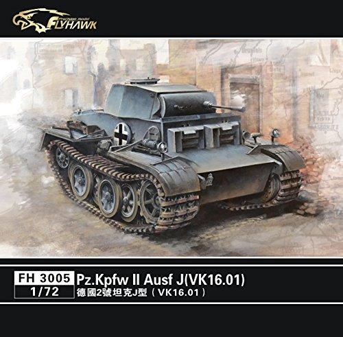 FlyHawk Modellbausatz Panzer 1/72 Panzer-Spähwagen II Ausführung J(VK16.01)