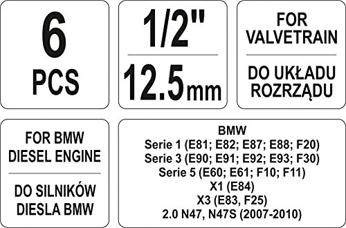 Yato - Coche Motor Herramienta De Ajuste para nocke Ondas | BMW ...