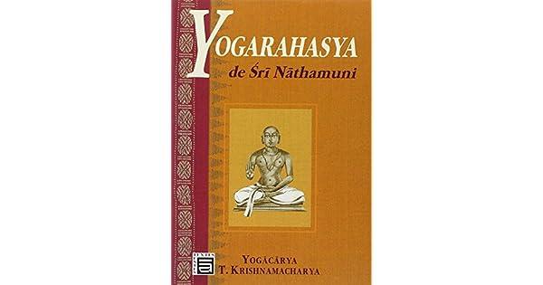 Amazon.com: Yogarahasya de Sri Nathamuni (9782911166082 ...