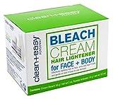 Clean+Easy Bleach Cream For Face + Body 2 Ounce (3 Pack)