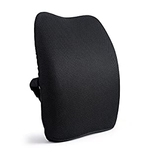 Orthopedic Memory Foam Lumbar Back Support Cushion Pillow for Lower Back Pain?Perfect for recliner office chair sofa car bed couch (Black)  sc 1 st  Amazon.com & Amazon.com: Orthopedic Memory Foam Lumbar Back Support Cushion ... islam-shia.org
