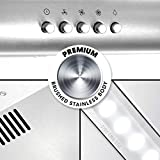 Cosmo 5MU30 30 in. Under Cabinet Range Hood with