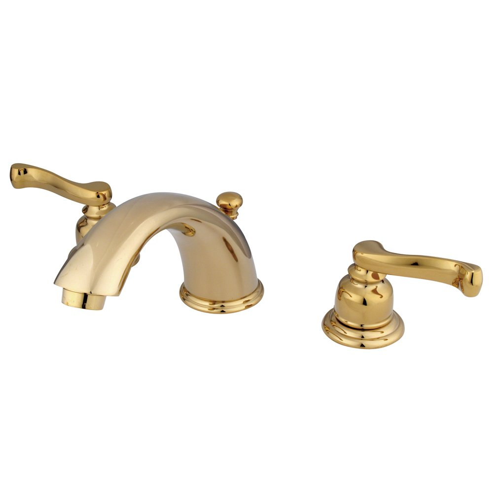 Kingston Brass KB8962FL Royale Widespread Bathroom Faucet with ...