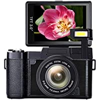 SEREE Camera Camcorder Full HD 1080p 24.0 Megapixels...