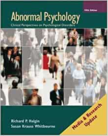 Amazon.com: Abnormal Psychology: Media and Research Update