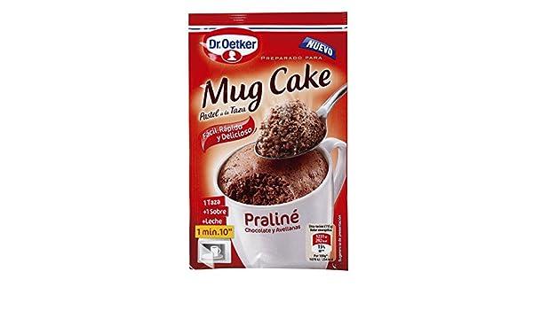 Amazon.com : Dr. Oetker Mug Cake Praline Instant Cake Mix Chocolate and Hazelnuts : Grocery & Gourmet Food