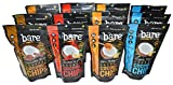 bare 100% Natural Crunchy Coconut Chips Variety Pack of 12
