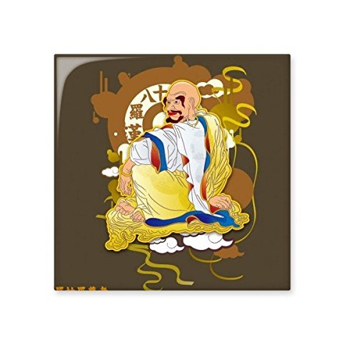 Buddhism Religion Buddhist Eighteen Arhats Pattern Figure Illustration Ceramic Bisque Tiles for Decorating Bathroom Decor Kitchen Ceramic Tiles Wall Tiles lovely