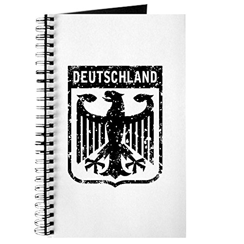 (CafePress Deutschland Coat of Arms Spiral Bound Journal Notebook, Personal Diary, Blank)