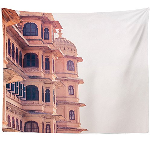 Westlake Art Wall Hanging Tapestry - Landmark Building - Photography Home Decor Living Room - (Rise Jodhpur)