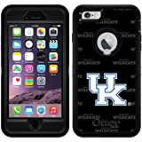 Kentucky - Dark Repeating design on Black OtterBox Defender Series Case for iPhone 6 Plus and iPhone 6s Plus