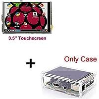Raspberry Pi 3 Model B Display Module 3.5 inch LCD TFT Screen Acrylic Case