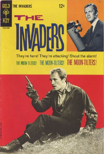 The Invaders Television Show (Gold Key Comic #3) 1968