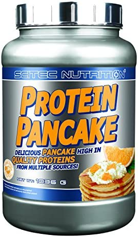Scitec Nutrition Protein Pancake - Cottage Cheese Orange Flavor, 1er Pack (1 x 1.036 kg)