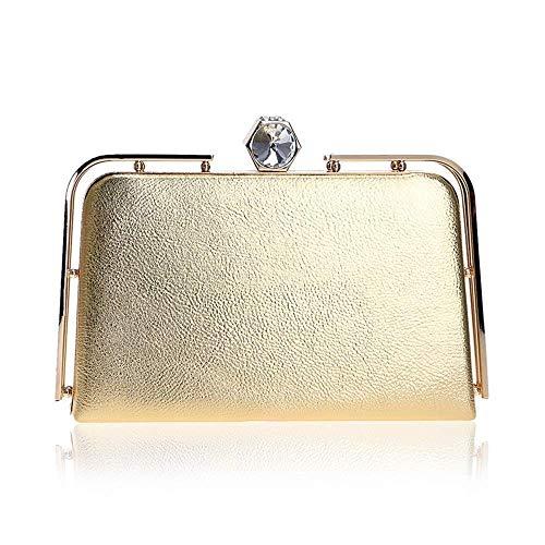 Sera colore Silver Della Borsa Frizione Gold Borse Mindruer Per Donne Feste Da Le wHXaqPv