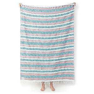 Laguna Beach Textile Co Mexican Blanket from Laguna Beach Textile Company