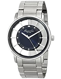 Kenneth Cole New York Men's KC3993 Transparency Classic See-Thru Blue Dial Watch