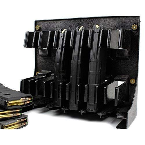 Neodymium MAGNET KIT for Black AR-15 Magholder by Mag Storage Solutions - 4 Extremely Strong Rare Earth Magnets [Magazine Holder is NOT Included]