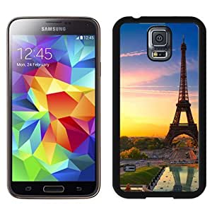 New Beautiful Custom Designed Cover Case For Samsung Galaxy S5 I9600 G900a G900v G900p G900t G900w With Sunset In Paris Phone Case