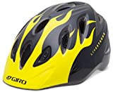 Giro Kid's Rascal Bike Helmet (Black/Yellow Livestrong Flames, Universal Toddler Small/Medium)
