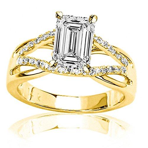 0.54 Ct Emerald Cut Diamond - 4