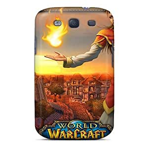 Defender Cases With Nice Appearance (world Of Warcraft Girl) For Galaxy S3