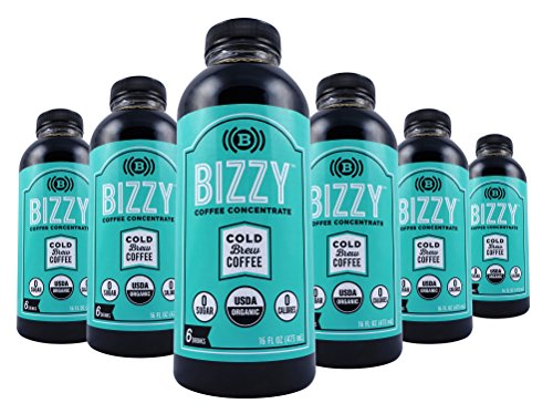 Bizzy Cold Brew Coffee Concentrate - 72 Servings - USDA Organic (Monster Energy Things compare prices)